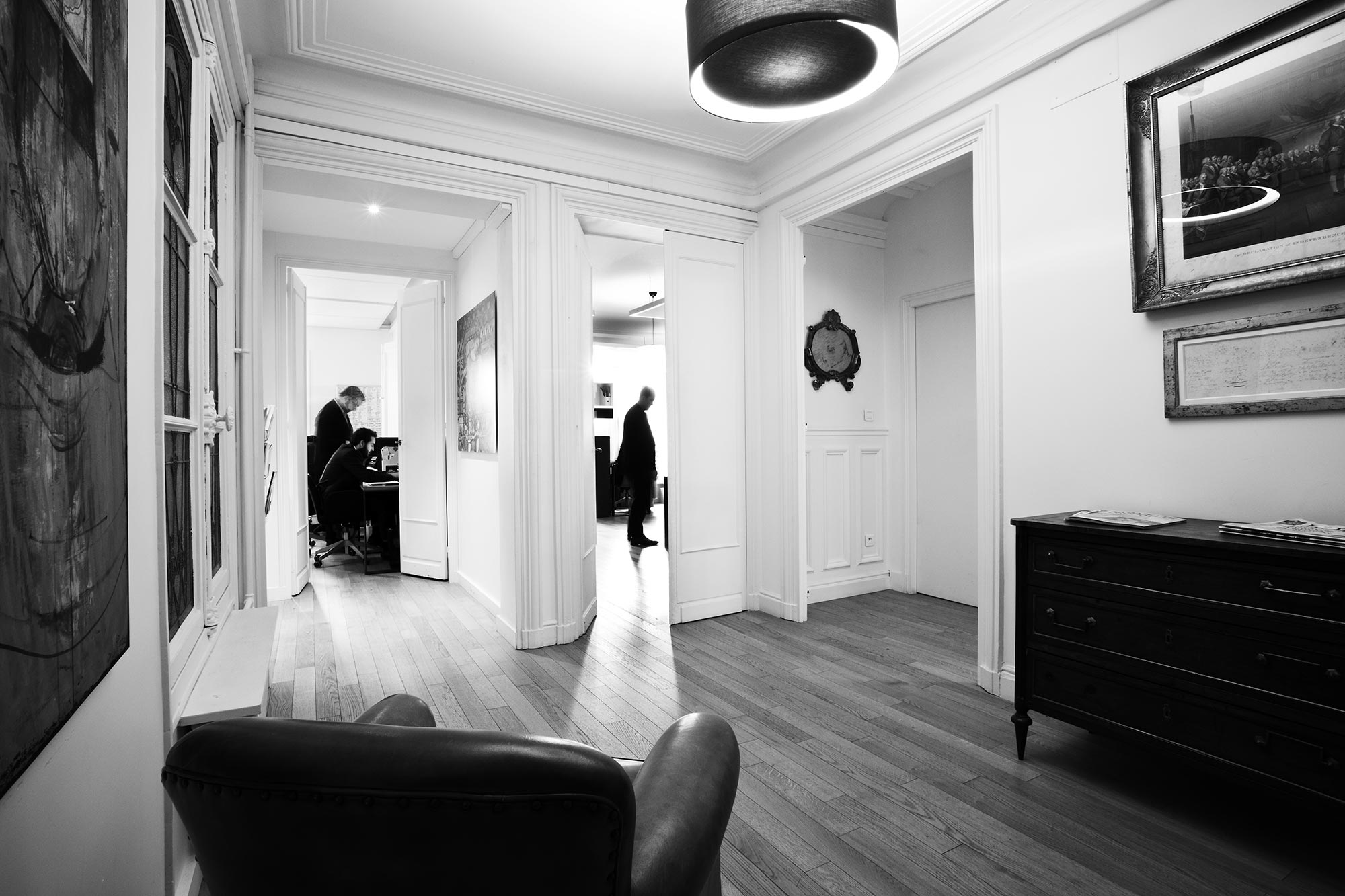 intérieur Elzéar Executive Search Paris 8